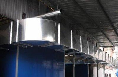 镀锌通风管道加工厂的开启是为了效益而