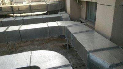 厨房排烟管道安装、煤气与天然气管道的
