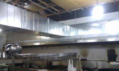 焊接工厂车间也需要安装通风管道