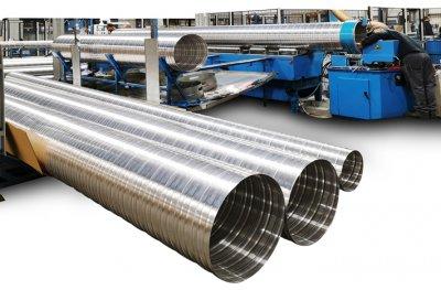 螺旋风管的应用行业及优势