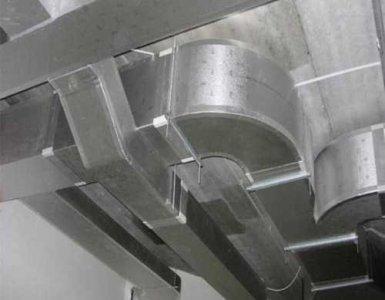 插条风管是工厂中的通风系统不可缺少的