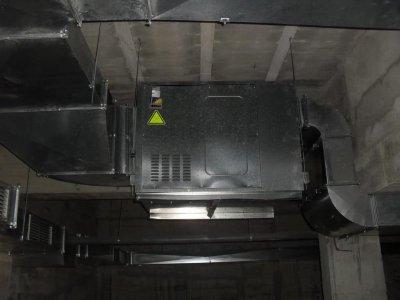 车库和地下室通风管道安装-徐州